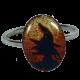 ring oval sorcieres ' head