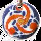 Pendant of universal composed triskel