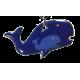 Pendant whale mom