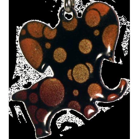 pendentif elephant-bulles