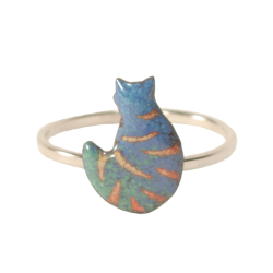 ring body cat striped