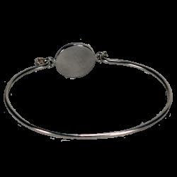 bracelet rond triskel bleu