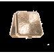 boite quadrilatère plate Merlin tenant le monde de par sa main en émail