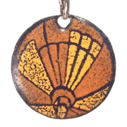 pendant round hot air balloon lift-off